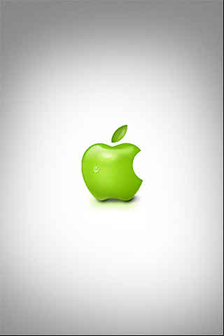 green apple iPhone backgrounds
