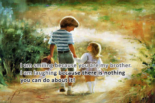 cute brother quotes picture