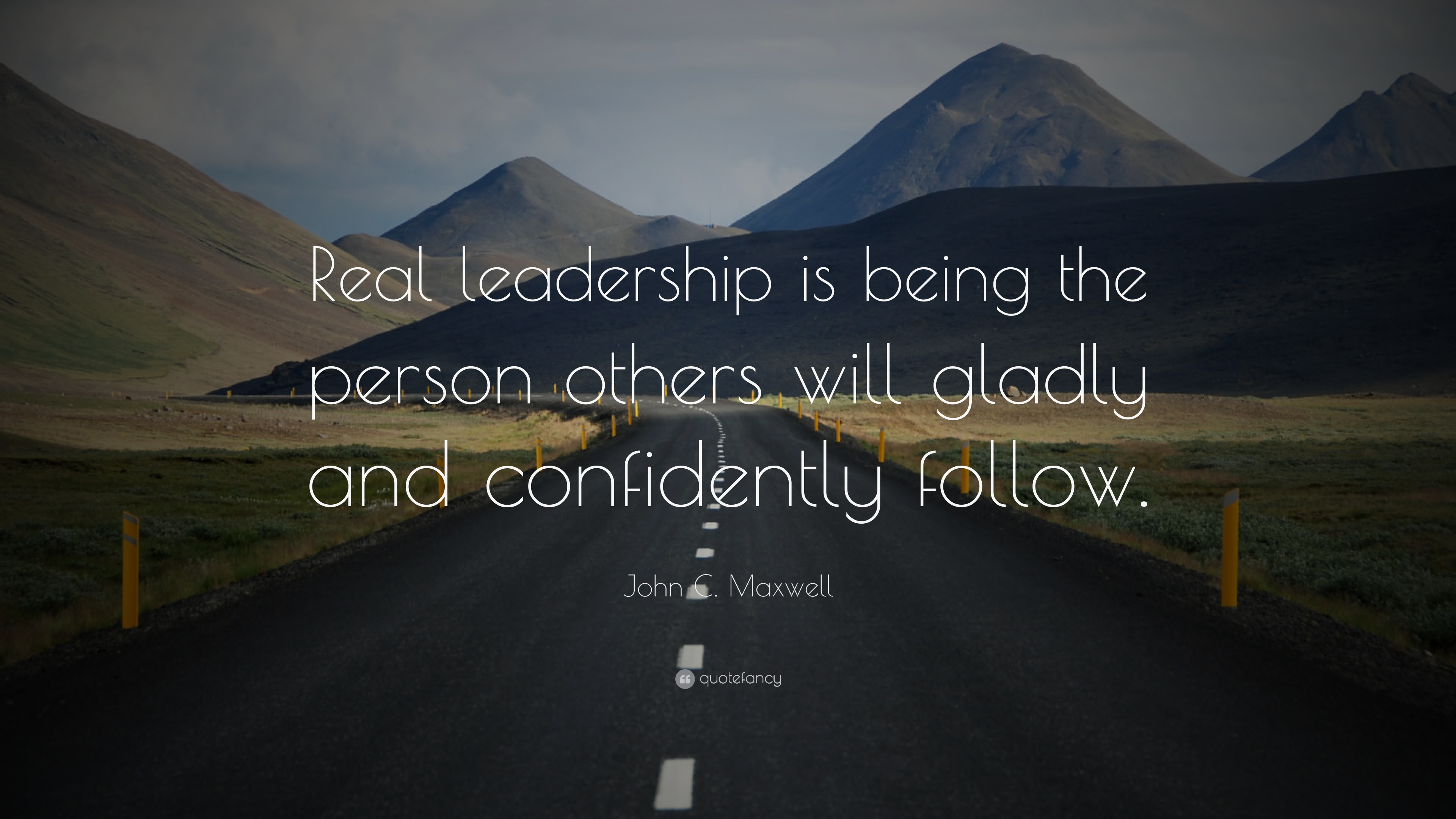widescreen leadership quote image