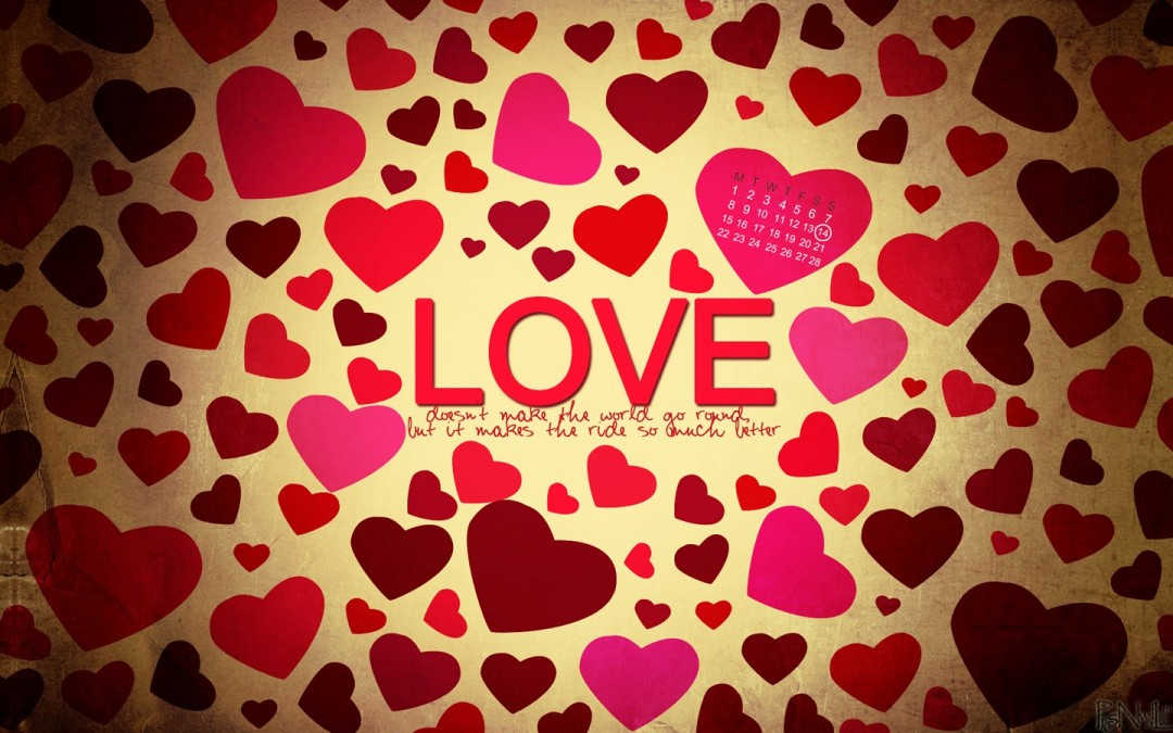 colorful heart wallpaper