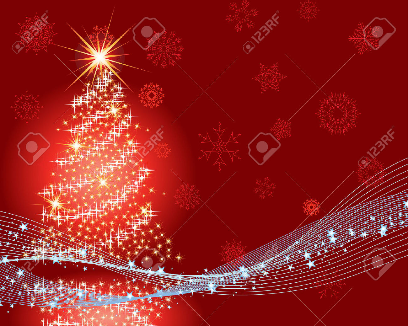 vector christmas new year background