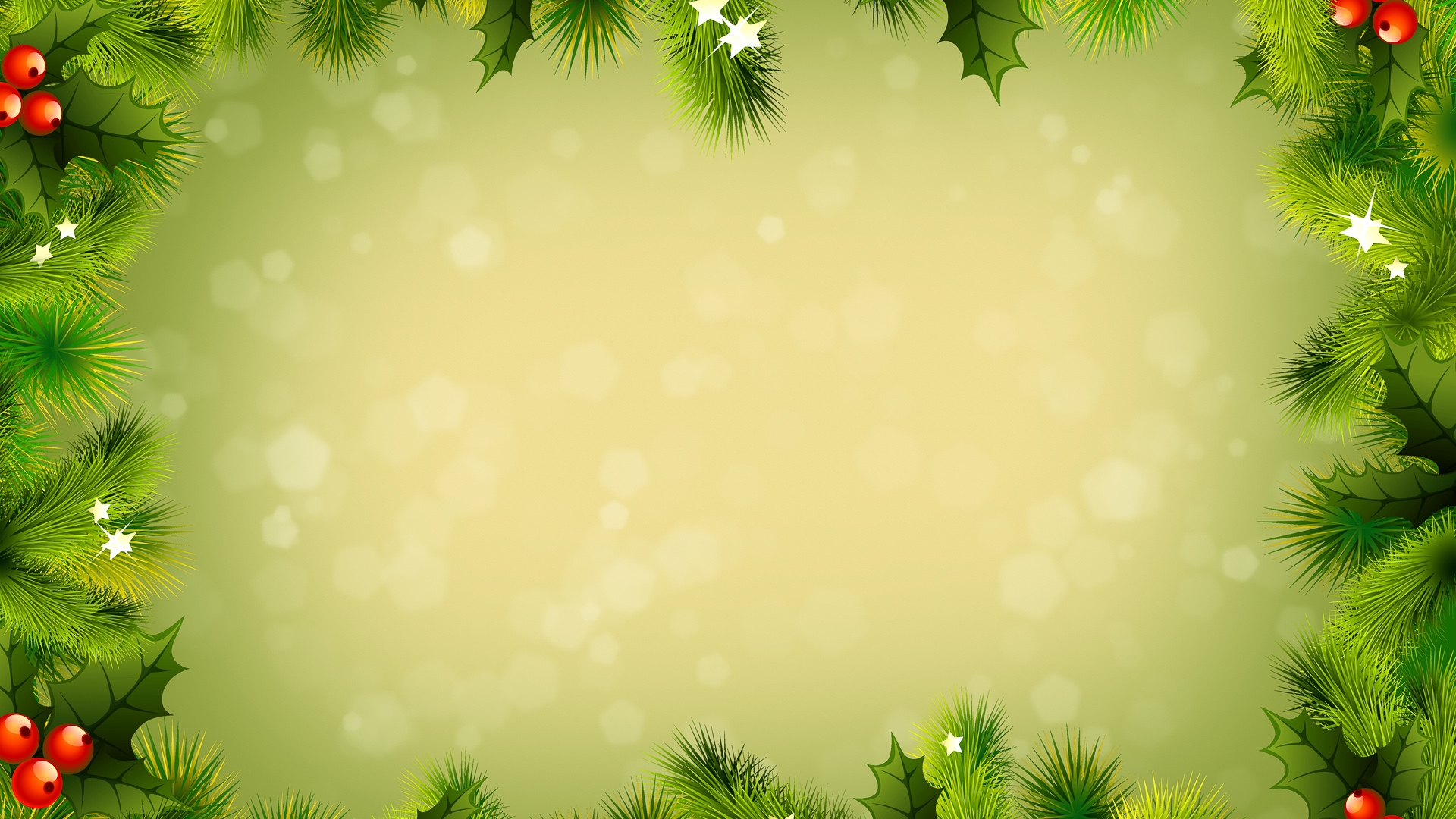 background new year branches