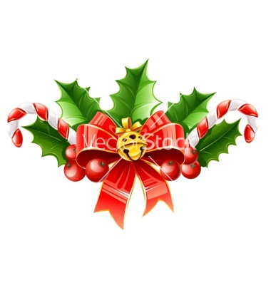 christmas decoration of red wallpaper