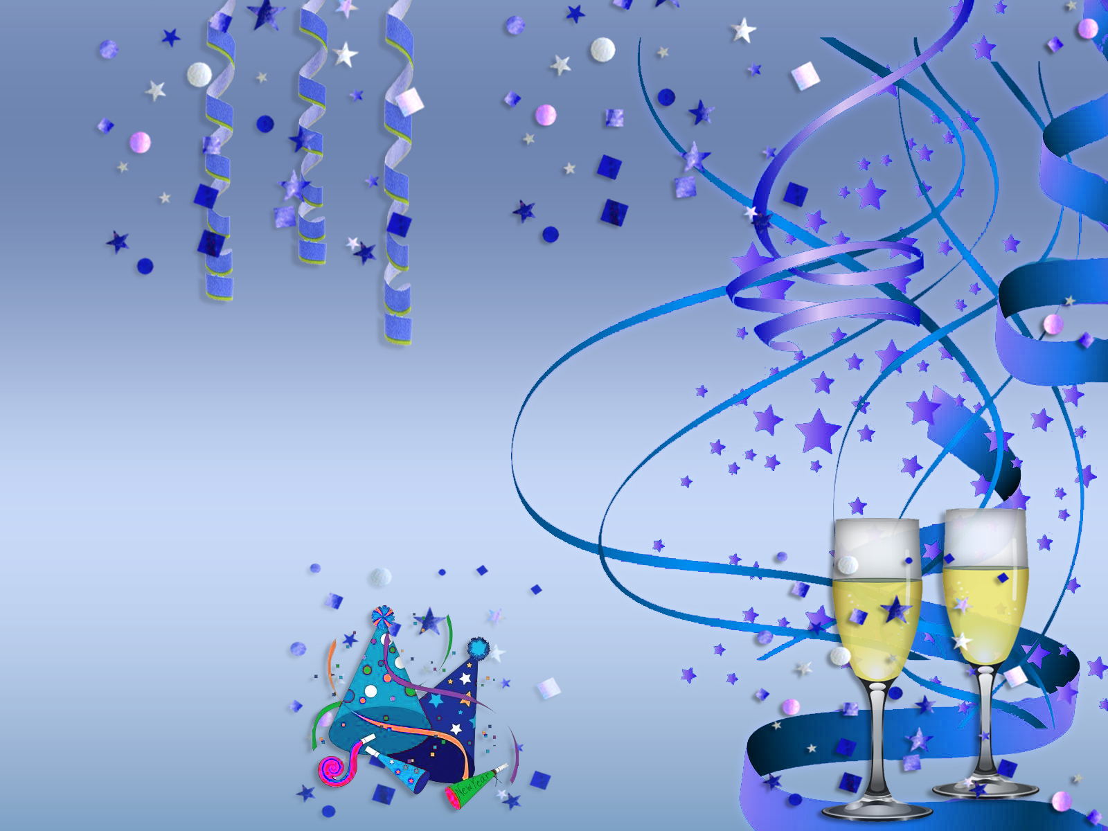 happy new year background hd