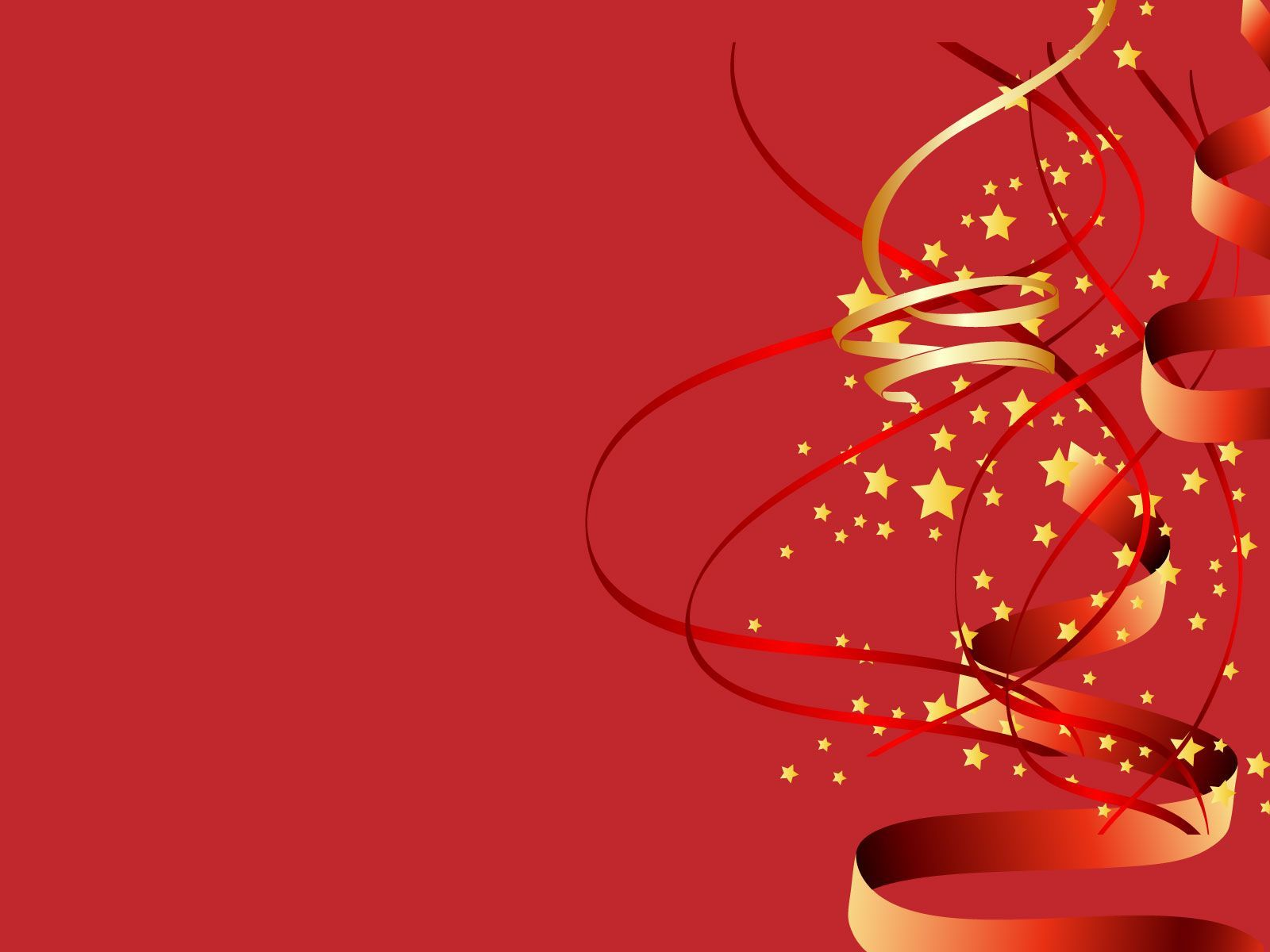 red background for new year image