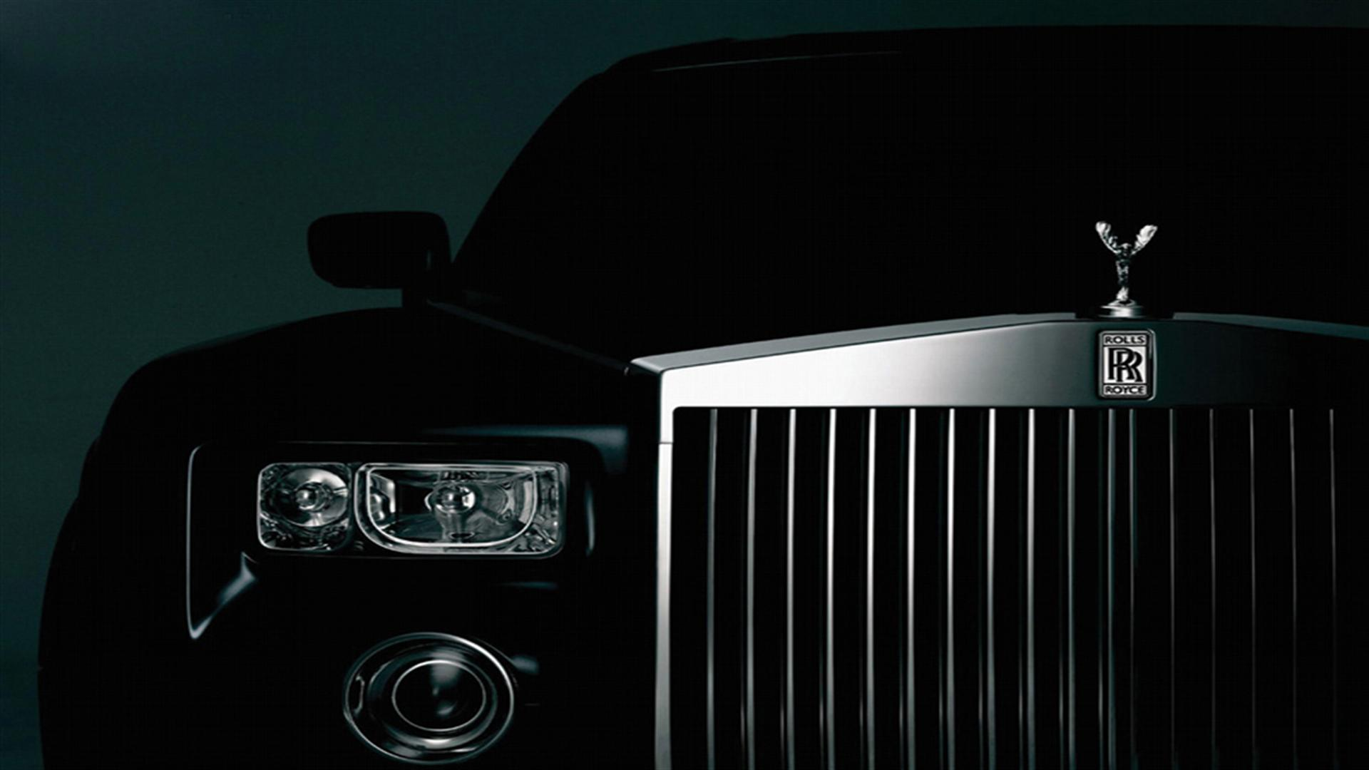 black car rolls and royce image