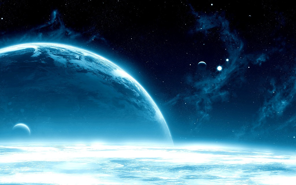 space hd widescree image