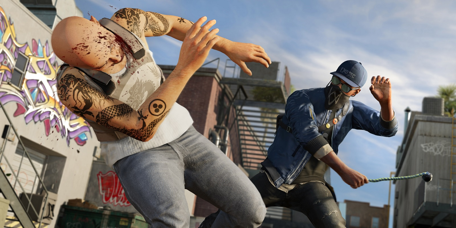 watch dogs 2 marcus fighting