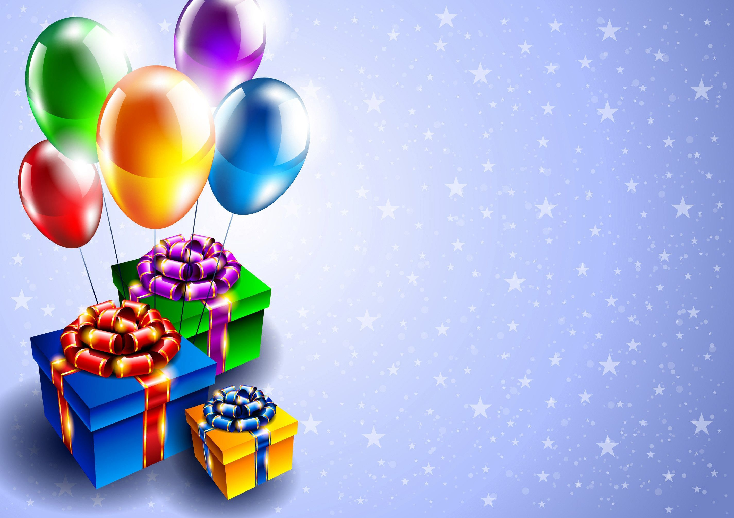 free hd colorful balloons image