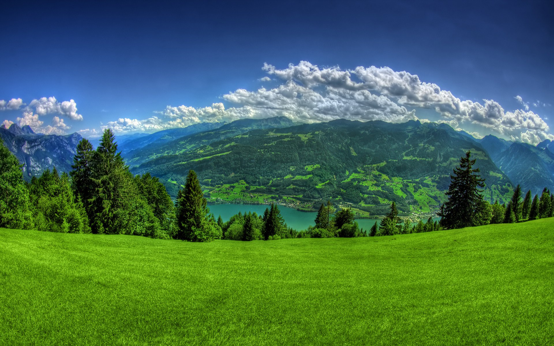 lovely mountain background