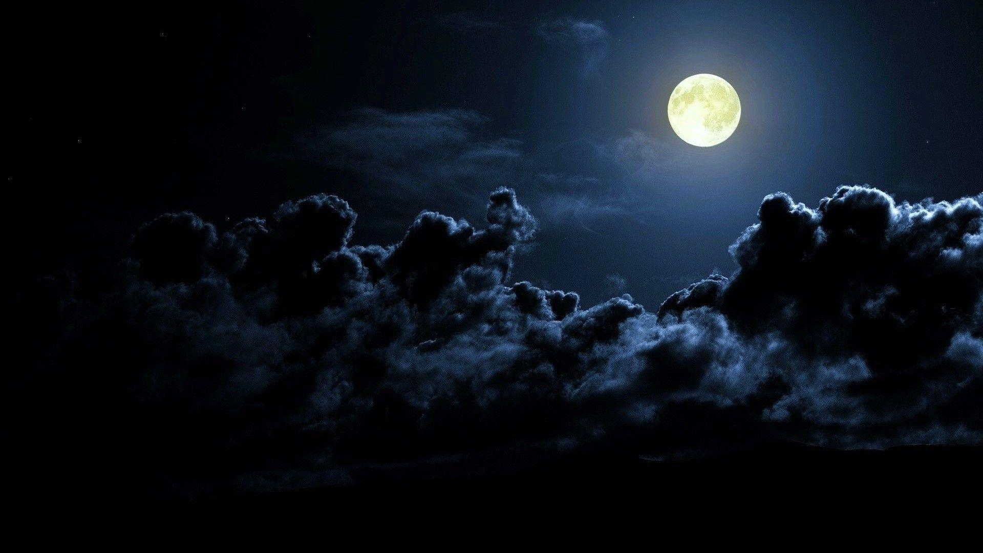darkness clouds nature image