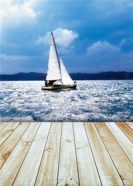 awesome natural Sailboat Background
