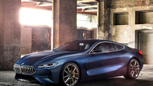 blue BMW 8 Wallpapers
