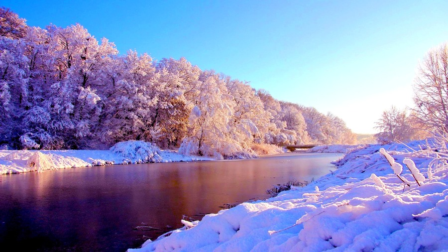 download Winter Sunrise Wallpapers