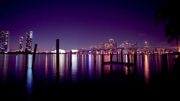 night city Miami Backgrounds