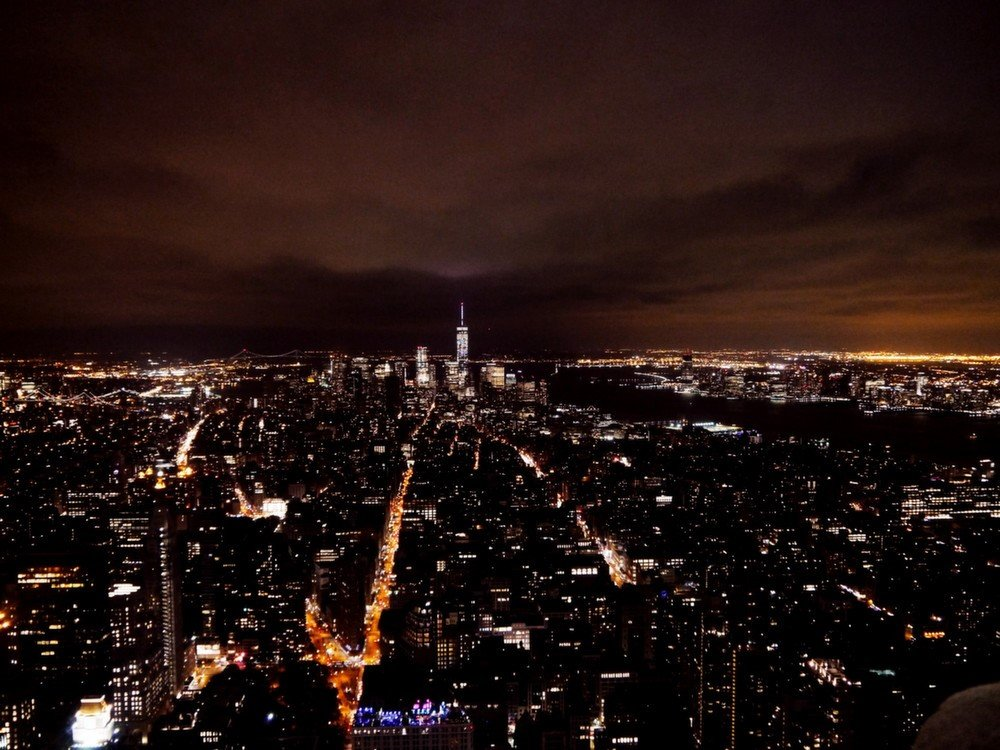 night city Empire State Building