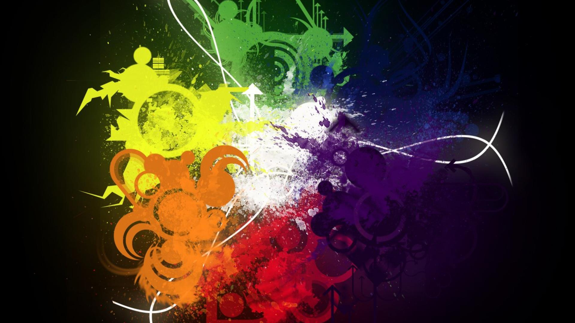 awesome hd Spectrum Backgrounds