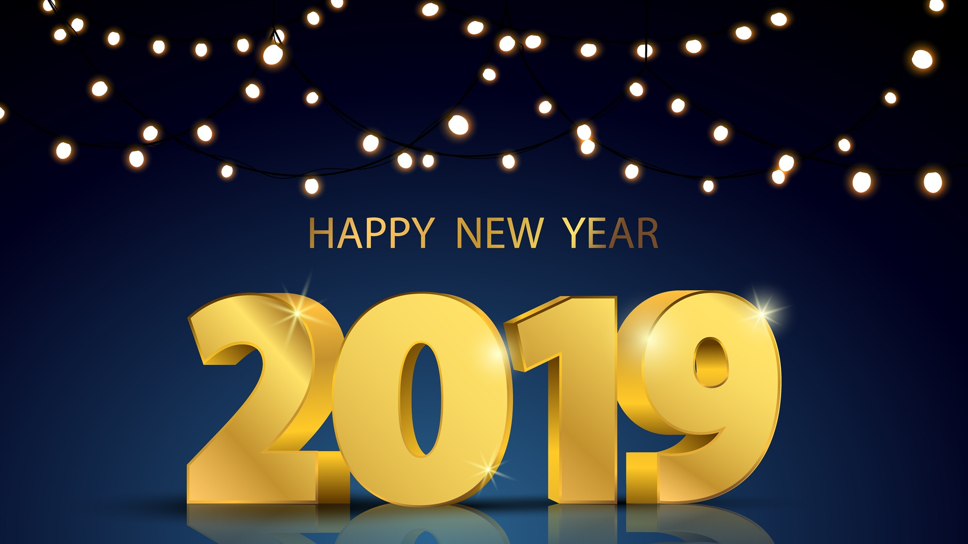 digital HD New Year Backgrounds