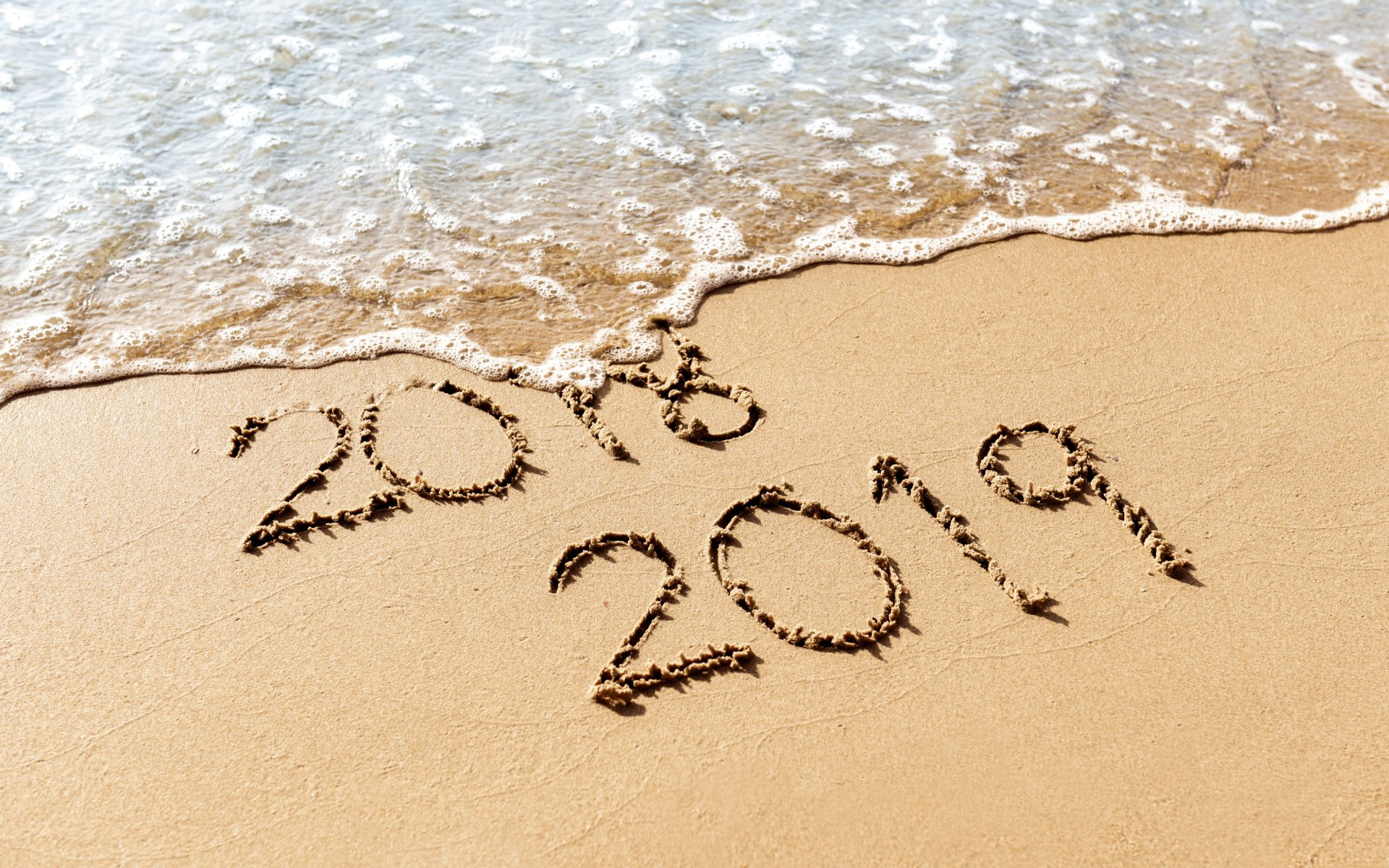 sea HD New Year Backgrounds