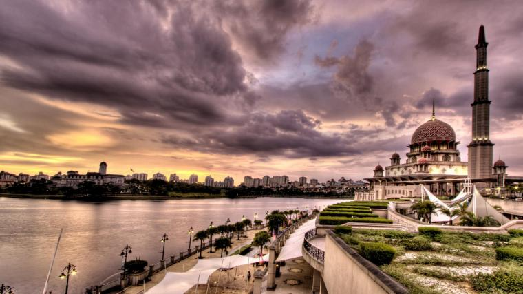 cloudy weather Islamic Wallpapers