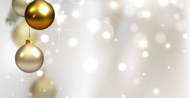 baubles Holiday Background