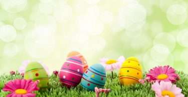 animated hd Easter Background