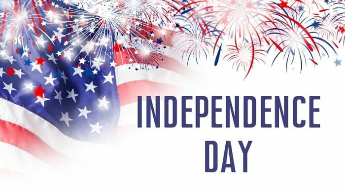 independence Fourth of July image
